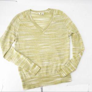 ⚠️ Anthropologie moth marled Vneck sweater